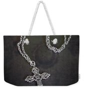 Celtic Cross Weekender Tote Bag by Joana Kruse