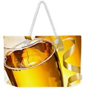 Champagne Glasses Weekender Tote Bag by Elena Elisseeva