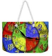 Changing Times Weekender Tote Bag