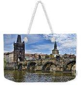 Charles Bridge - Prague Weekender Tote Bag