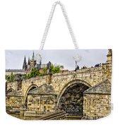 Charles Bridge And Prague Castle Weekender Tote Bag