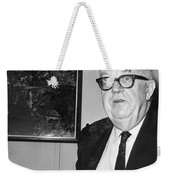 Charles Percy Snow Weekender Tote Bag