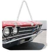 Cherry Chevelle Weekender Tote Bag