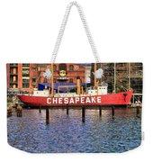 Chesapeake Weekender Tote Bag