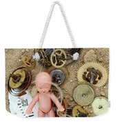 Child In Time Weekender Tote Bag by Michal Boubin