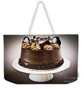 Chocolate Cake Weekender Tote Bag by Elena Elisseeva