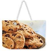 Chocolate Chip Cookies And Milk Weekender Tote Bag by Elena Elisseeva