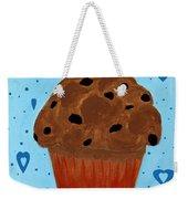 Chocolate Chip Cupcake Weekender Tote Bag