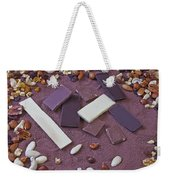 Chocolate Weekender Tote Bag