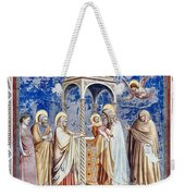 Christ At The Temple Weekender Tote Bag