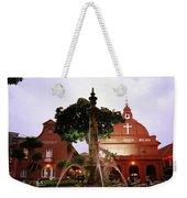 Christ Church In Melaka In Malaysia Weekender Tote Bag