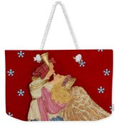 Christmas Angel Weekender Tote Bag by Aimee L Maher Photography and Art Visit ALMGallerydotcom