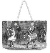 Christmas Waits, 1853 Weekender Tote Bag