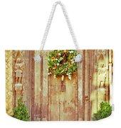 Christmas Wreath Weekender Tote Bag by Tom Gowanlock