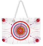 Circle Art Weekender Tote Bag