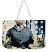 Civil War: Black Soldier Weekender Tote Bag