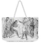 Civil War: Copperhead, 1863 Weekender Tote Bag