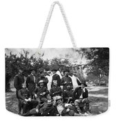 Civil War: Headquarters Weekender Tote Bag
