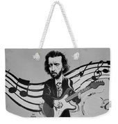 Clapton In Black And White Weekender Tote Bag