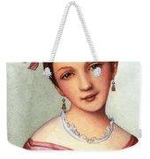 Clara Schumann (1819-1896) Weekender Tote Bag