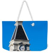 Clarksville Historic Courthouse Tower Weekender Tote Bag