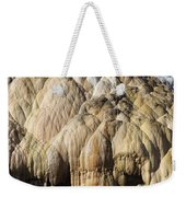 Cleopatra Terrace, Mammoth Hot Springs Weekender Tote Bag