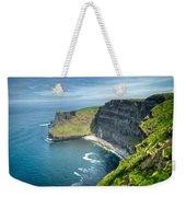 Cliff Of Moher 31 Weekender Tote Bag