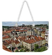 Clock Tower View - Prague Weekender Tote Bag