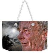Close-up Profile Robert John K. Weekender Tote Bag