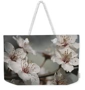 Close View Of Cherry Blossoms Weekender Tote Bag