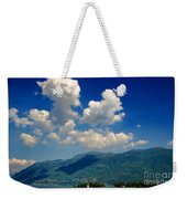 Clouds And Mountain Weekender Tote Bag
