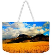 Clouds In The Mountains Weekender Tote Bag