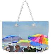 Coast Guard Beach Umbrellas Weekender Tote Bag