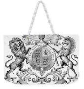 Coat Of Arms: Great Britain Weekender Tote Bag