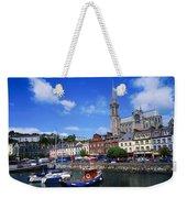 Cobh Cathedral & Harbour, Co Cork Weekender Tote Bag