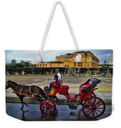 Colonial Buildings In Old Cartagena Colombia Weekender Tote Bag by David Smith