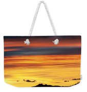 Colorado Sunrise Weekender Tote Bag by Beth Riser
