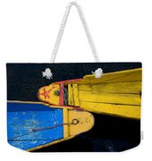 Colorful Boats, Srinagar, Dal Lake Weekender Tote Bag