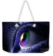 Colorful Eye Weekender Tote Bag