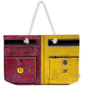 Colorful Mailboxes Weekender Tote Bag