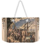 Columbus: Native Americans Weekender Tote Bag
