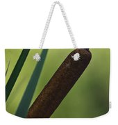 Common Cattail Weekender Tote Bag
