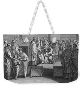 Confirmation, 18th Century Weekender Tote Bag
