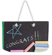Congratulations Weekender Tote Bag