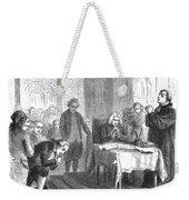 Continental Congress, 1774 Weekender Tote Bag