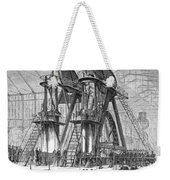 Corliss Steam Engine, 1876 Weekender Tote Bag