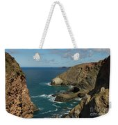 Cornish Seascape St Agnes  Weekender Tote Bag