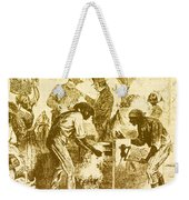 Cotton Gin, 19th Century Weekender Tote Bag by Science Source