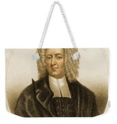 Cotton Mather, American Minister Weekender Tote Bag