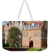 Cow Gate In Gdansk Weekender Tote Bag